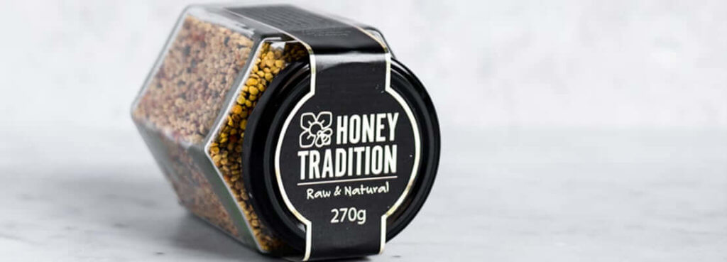 Raw and Natural Bee Pollen