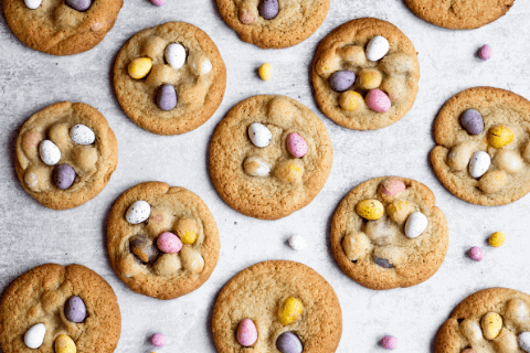 Honey Tradition Easter Mini Egg Cookies