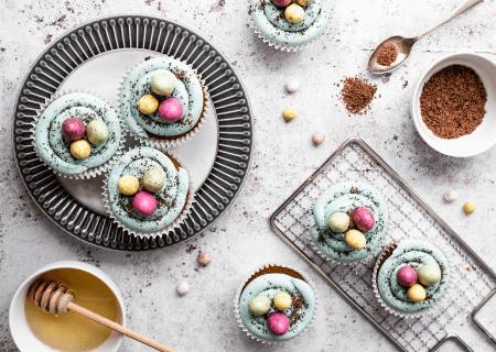 Milk and honey Easter Cupcake Recipe