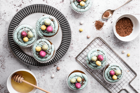 Milk and honey Easter Cupcake Recipe